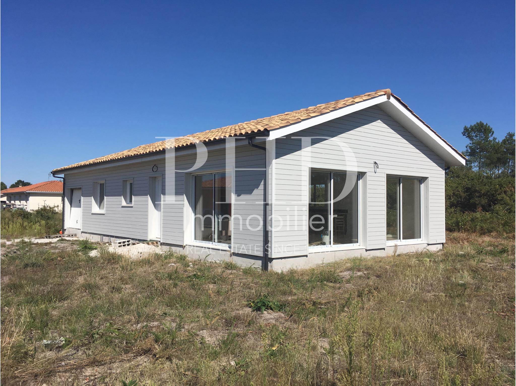 maison villa vente parentis en born m tres carr s 104 dans le domaine de landes ref 277